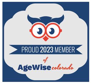 proud 2021 member of AgeWise colorado